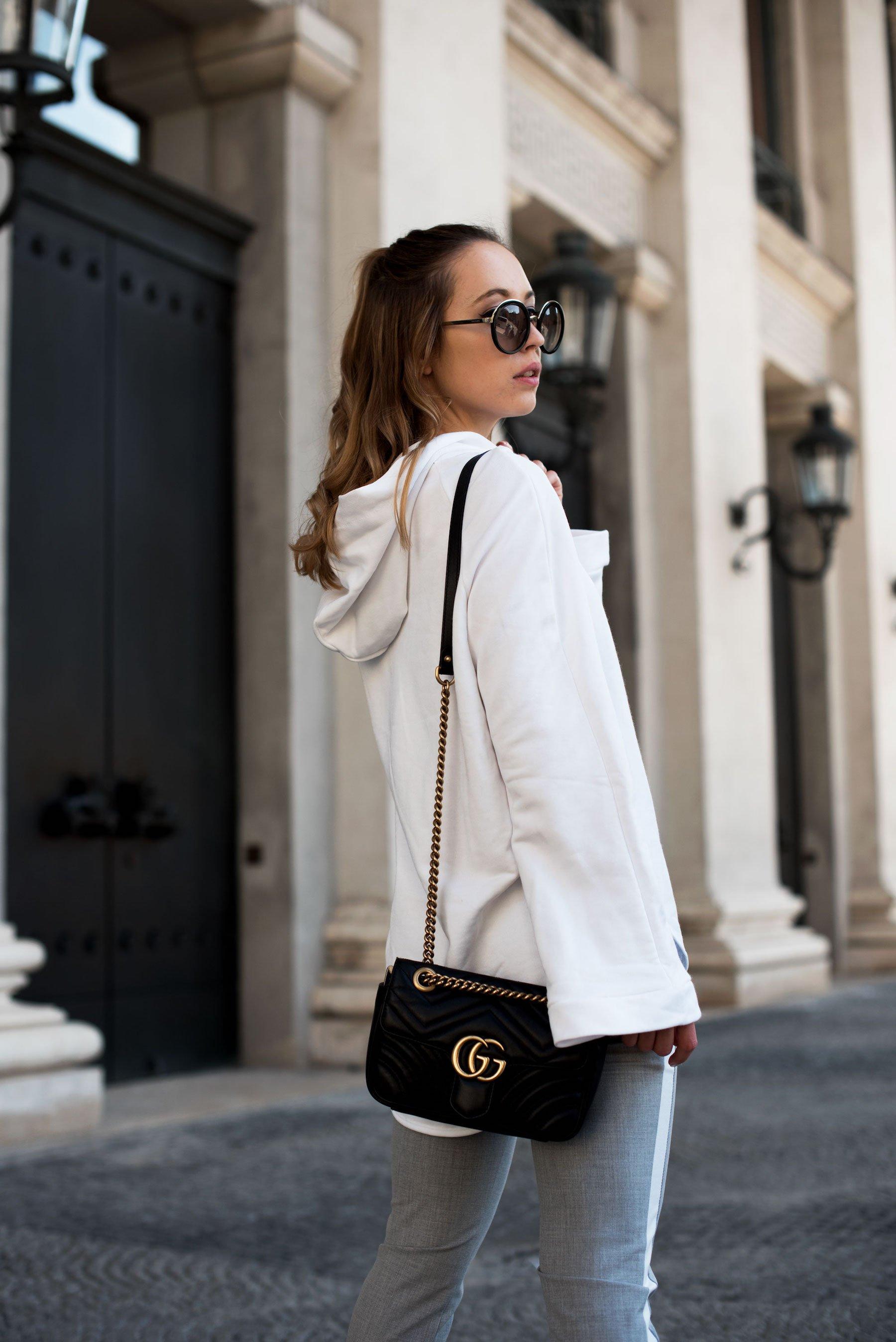 Sweatshirt Trend, Weißes Sweatshirt, Stylemocca