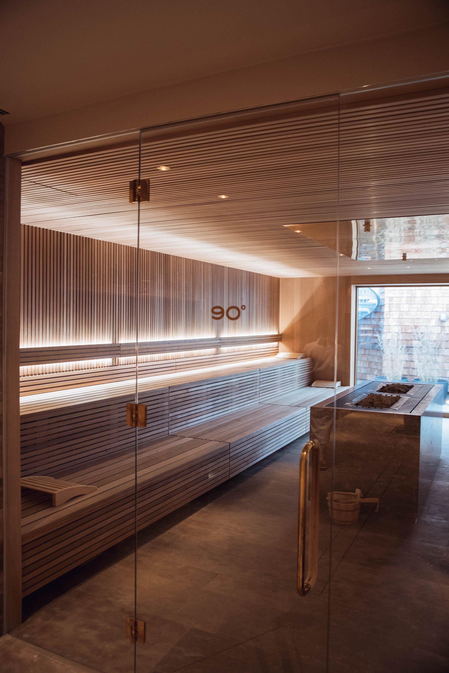 Wellnesshotel am Tegernsee Bachmair Weissach Sauna