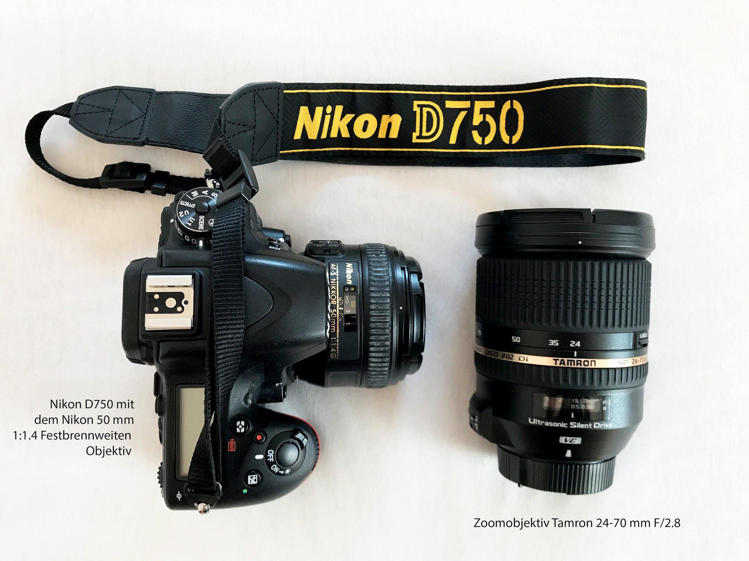 Unser Foto Equipment Kamera Objektive Stylemocca