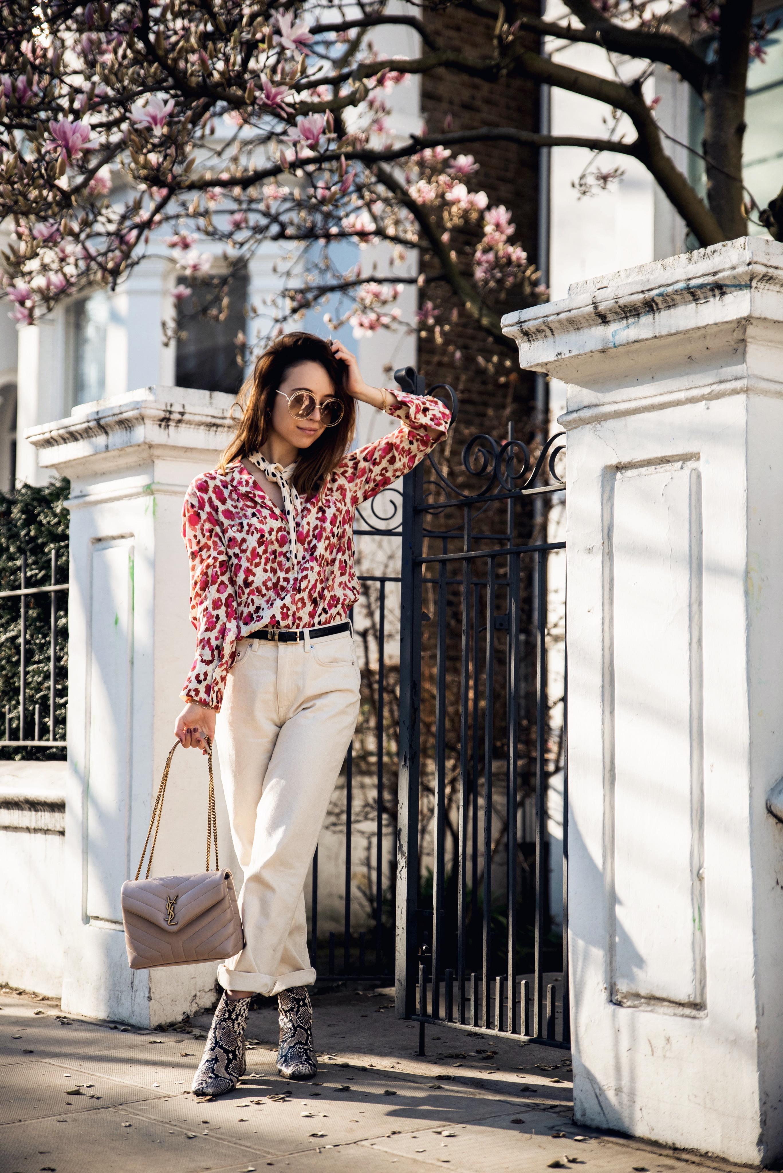 Outfit für den Frühling mit Pastellfarben