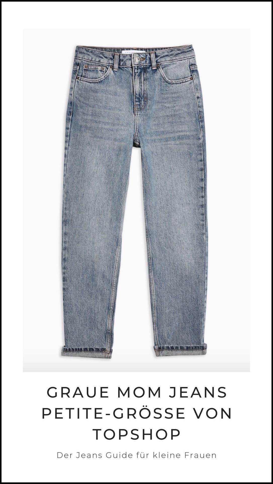Topshop Mom Jeans für kleine Frauen