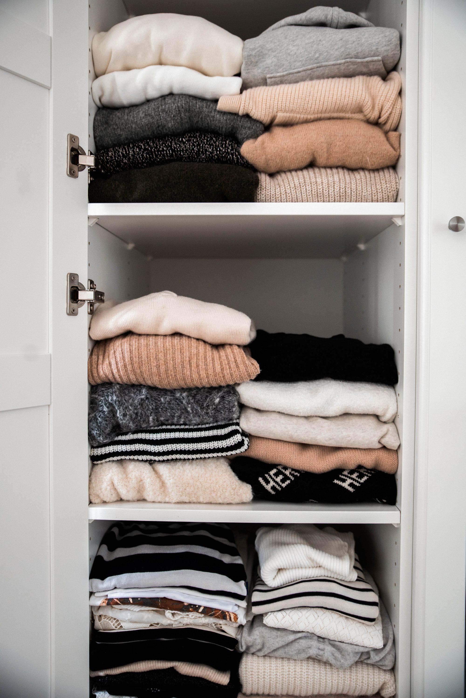 Kleiderschrank ordnen und sortieren, Tipps & Tricks