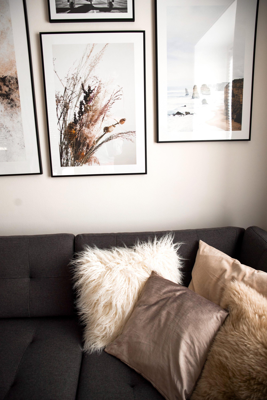 Einrichtungsidee: Wohnungsgestaltung mit Wandbildern